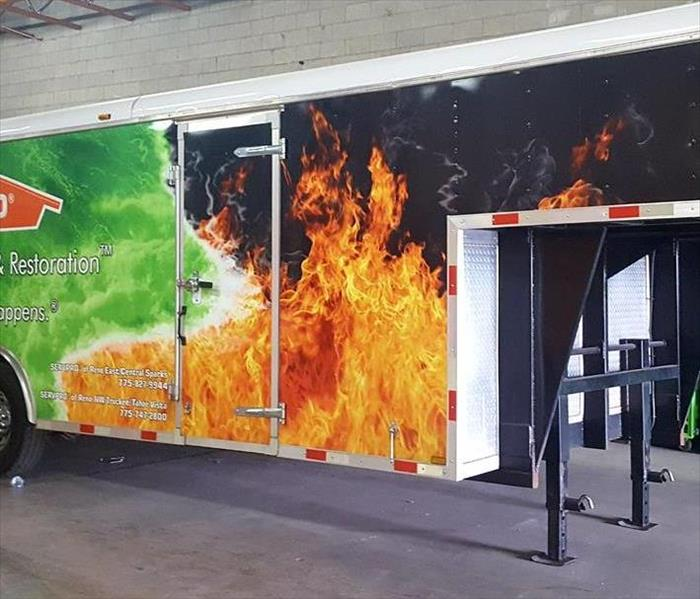 SERVPRO of Reno East/Central Sparks Large Emergency Response Trailer