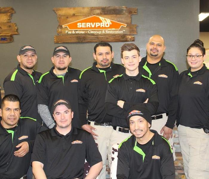 SERVPRO of Reno East/Central Sparks Crew Chiefs and IICRC Trained Technicians