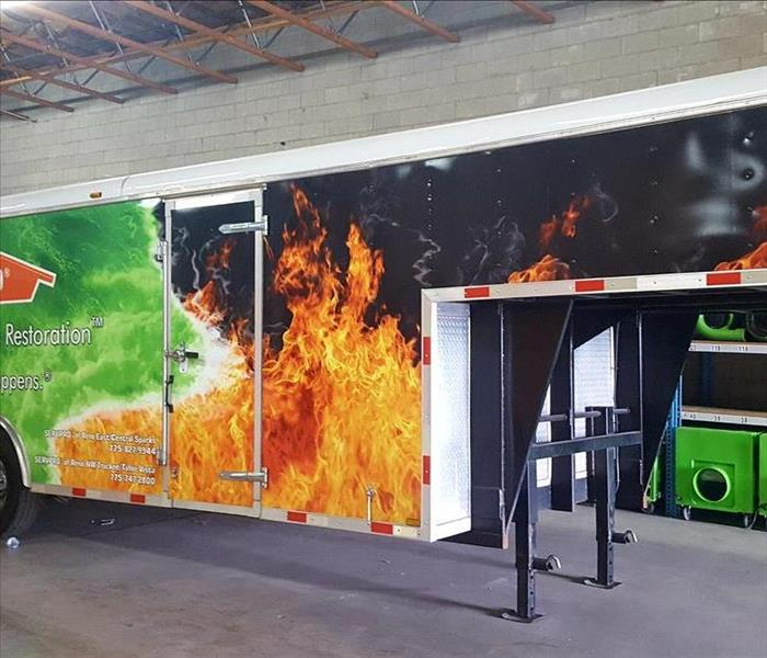 Commercial SERVPRO of Reno East/Central Sparks Has All the Commercial Equipment Needed for Your Commercial Fire or Commercial Water Damage