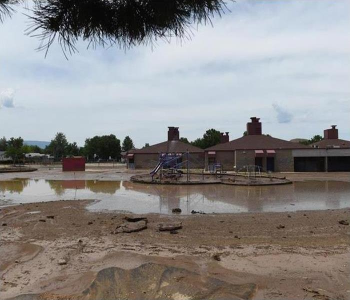 Commercial Heavy rains July of 2015 flooded Jerry Whitehead Elementary School in Sparks
