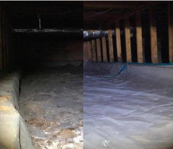 Water Damage Flooded Crawlspaces!